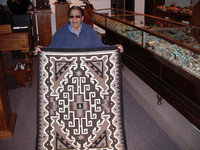 Navajo Indian Rug Two Grey Hills 4 Bernice Brown