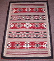 Navajo Indian Rug Two Grey Hills SOLD