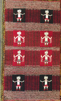Navajo Indian Rug Two Faced Weaving 1960's