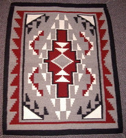 Navajo Indian Rug Ganado