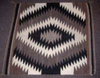 Navajo Indian Rug Eye Dazzler Lucy Woodie NIRED6