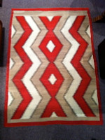 Navajo Indian Rug Eye Dazzler