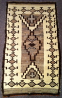 Navajo Indian Rug Early Crystal 1910 SOLD