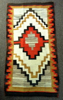 Navajo Indian Arizona Regional Rug Handmade Churro Wool SOLD