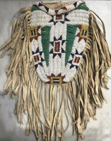 Native American Indian Sioux Style Beaded Medicine Bag_2 SOLD