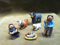 MARY LUCERO STORYTELLER NATIVITY SET MLSNS8