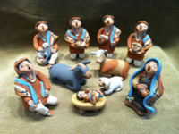 MARY LUCERO STORYTELLER NATIVITY SET SOLD