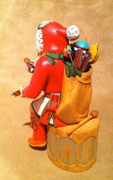 Kachina Hopi Andrew Sahmie Santa Claus SOLD