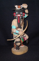 Kachina Lowell Talashoma Left Handed Warrior