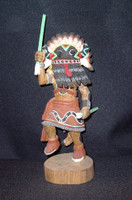 Kachina Darren Pooyouma Broadfaced SOLD