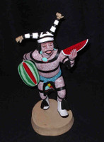 Kachina A.L. Sahmie Hano Clown Watermelon Slice 4 SOLD