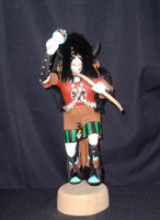 Kachina  A. L. Sahmie Black Buffalo Dancer