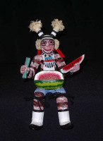 Kachina Fletcher Healing Seated Hano Clown SOLD