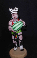 Kachina A.L. Sahmie Hano Clown Watermelon Basketball Jersey10