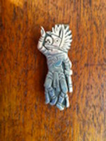Hopi Owl Kachina Money Clip Clement Honie