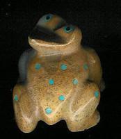 Zuni Frog Fetish Elizabeth Leekya