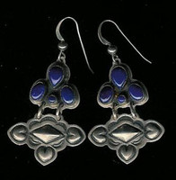 Don Lucas Lapis French Wire Earrings