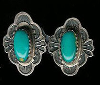Don Lucas Turquoise Earrings SOLD