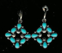 Don Lucas Turquoise Earrings