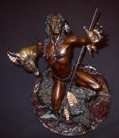 "BRONZE Joseph Krausz ""Vision Of Plenty"" SOLD"