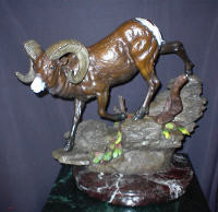 "BRONZE Joseph Krausz ""Mountain Monarch""_1 SOLD"