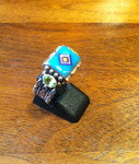 Benny & Valorie Aldrich Jewelry Turquoise Rings BVAJR8
