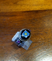 Benny & Valorie Aldrich Jewelry Onyx Rings BVAJR6 SOLD