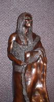 "Bronze Pat Mathiesen ""Spirit Of Crazy Horse"""