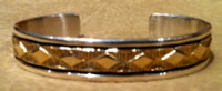 BRACELETS NAVAJO GOLD & SILVER Bruce Morgan BNGSBM54
