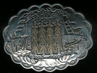 BELT BUCKLE KIOWA SILVER GOLD Phil Pvo_2 BBKSG2