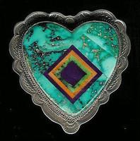 Benny & Valorie Aldrich Jewelry Pin