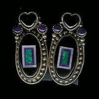 Benny & Valorie Aldrich Jewelry Earrings AJE4