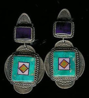 Benny & Valorie Aldrich Jewelry Earrings AJE3 SOLD
