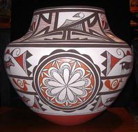 Pottery Acoma Barbara & Joseph Cerno A8 SOLD