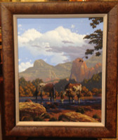 PAINTING NAVAJO NATIVE AMERICAN PAINTING WILLIAM MURPHY SOLD