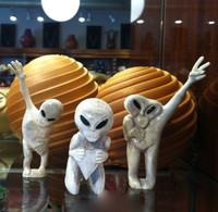 Zuni Alien Extraterrestrials Fetish Family Esteban Najera ZAEF3 SOLD