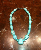 BRUCE ECKHARDT SLEEPING BEAUTY TURQUOISE NECKLACE SOLD