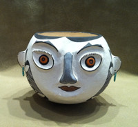 Pottery Acoma Face Pot Lilly Salvador SOLD
