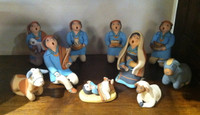 MARY LUCERO STORYTELLER NATIVITY SET JEMEZ 4 SOLD