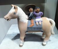 STORYTELLER JEMEZ CHILDREN HORSE LEONARD TSOSIE CORNHILL _1