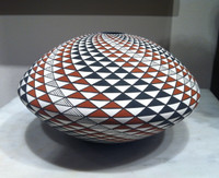 Pottery Acoma Hopi Laguna Fine Line Robert Kasero Sr. SOLD
