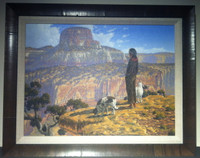 PAINTING NAVAJO NATIVE AMERICAN PAINTING WILLIAM MURPHY_2