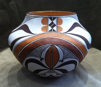 Pottery Acoma Polychrome D. J. Aragon SOLD