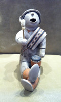 STORYTELLER COCHITI POLYCHROME DRUMMER RARE COLLECTABLE HELEN CORDERO!