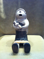 STORYTELLER COCHITI POLYCHROME RARE COLLECTABLE HELEN CORDERO 3!