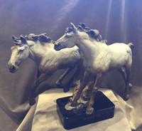 "BRONZE Jack Muir ""Powder River Ponies"" SOLD"