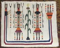 Navajo Indian Rug Yei_6