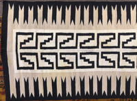 Native Indian Rug Klagetoh Weaving