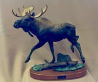 "BRONZE ROBERT B. TATE ""THE MOOSE""_2"