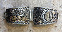 WATCHBAND TIPS KIOWA 14K STERLING SILVER Phil Pvo